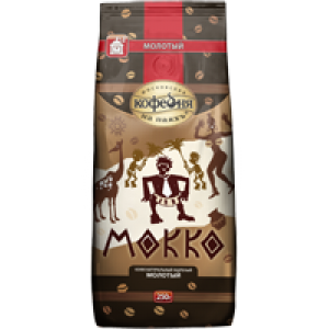 Московская Кофейня на Паяхъ - Мокко (500 г.\1 уп.)