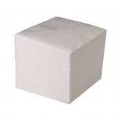 Салфетки - однослойные белые 24х24 см. (90 шт.\1 уп.)