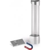 Стаканодержатель - серебряный (магнитный/100 ст.)