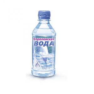 """Вода """"Королевская"""" (без газа/0.33 л./1 уп./24 шт./ПЭТ)"""